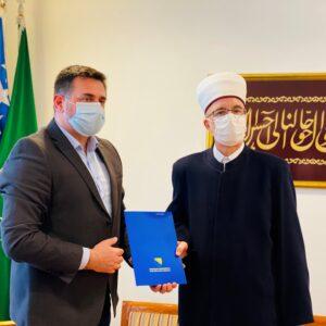 Ministar Ramić i muftija Fazlović razgovarali o stanju i perspektivama povratnika